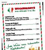Speisekarte Enoteca Milano