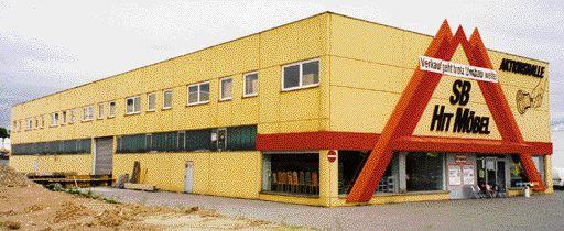 Chronik - Möbel Schulze im Jahr 1991 - Eröffnung des SB-Hit Möbelmarktes in Rödental