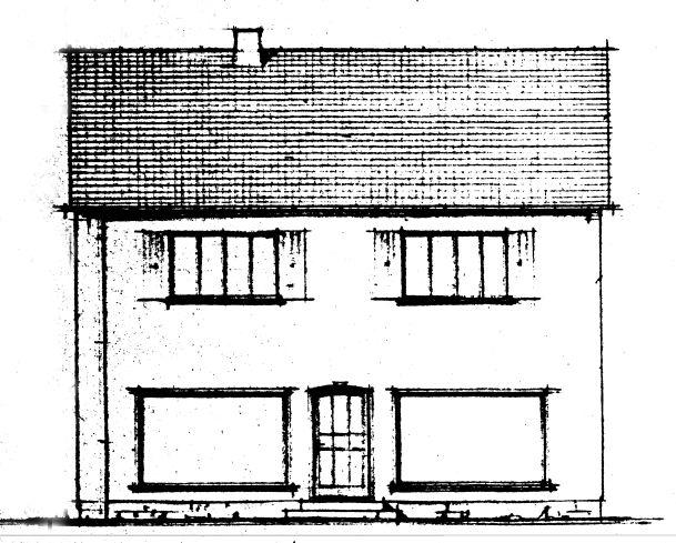 Chronik - Möbel Schulze - Neubau eines Ausstellungs- und Lagergebäudes im Jahr 1953