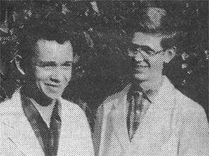Chronik - Möbel Schulze - 1967 Wolfgang Schulze zusammen mit Werner Büchner