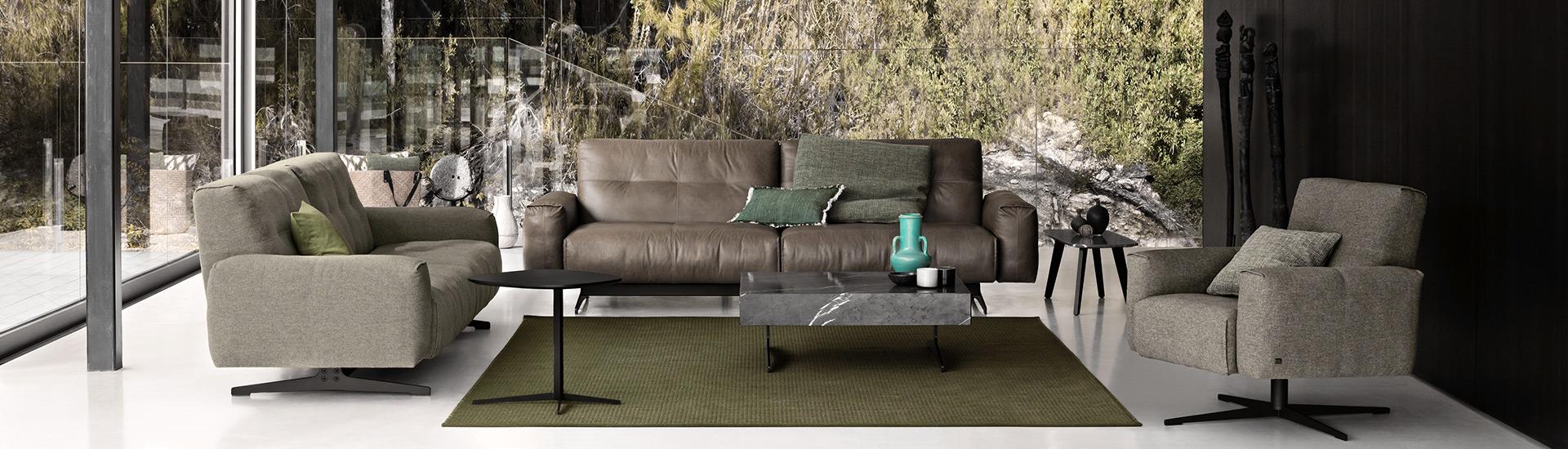 Rolf Benz - Sofas, Sessel, Clubsessel, Relaxliegen - Möbelmarken by Möbel Schulze Coburg, Rödental & Ilmenau