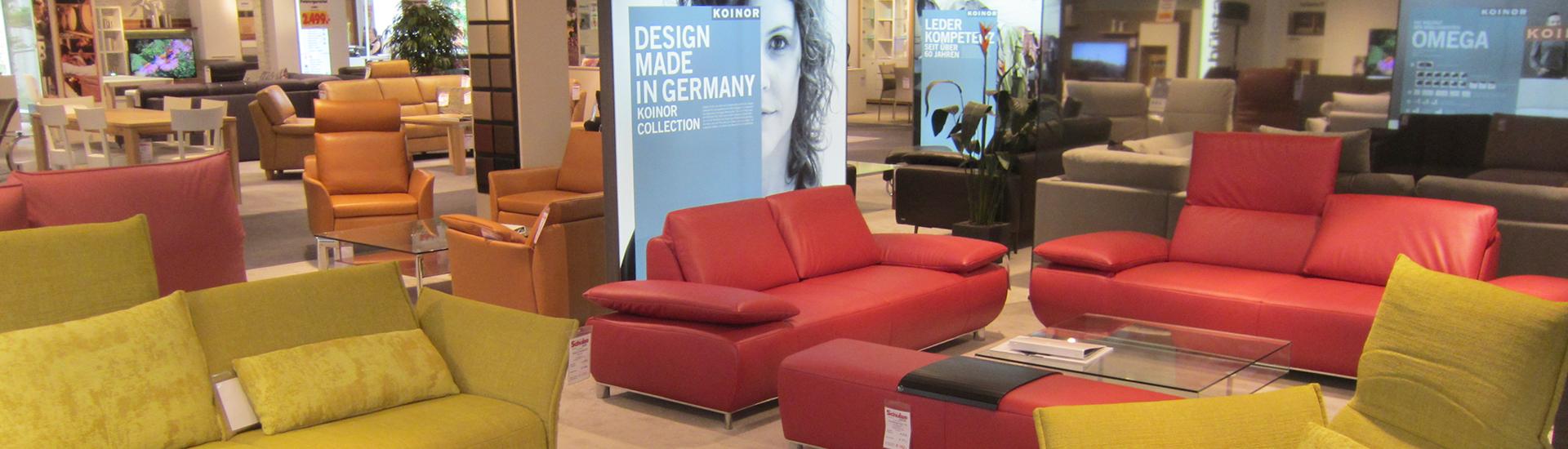 KOINOR - Sofas, Sitzlandschaften, Relaxliegen, Sessel - Möbel Schulze Coburg, Rödental & Ilmenau