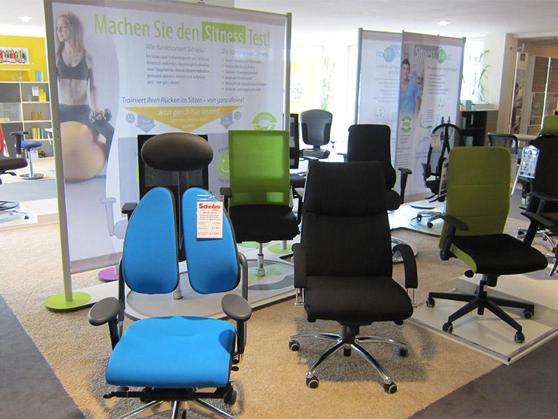 Büroausstattung - Bürostühle - Einrichtungshaus Schulze Ilmenau