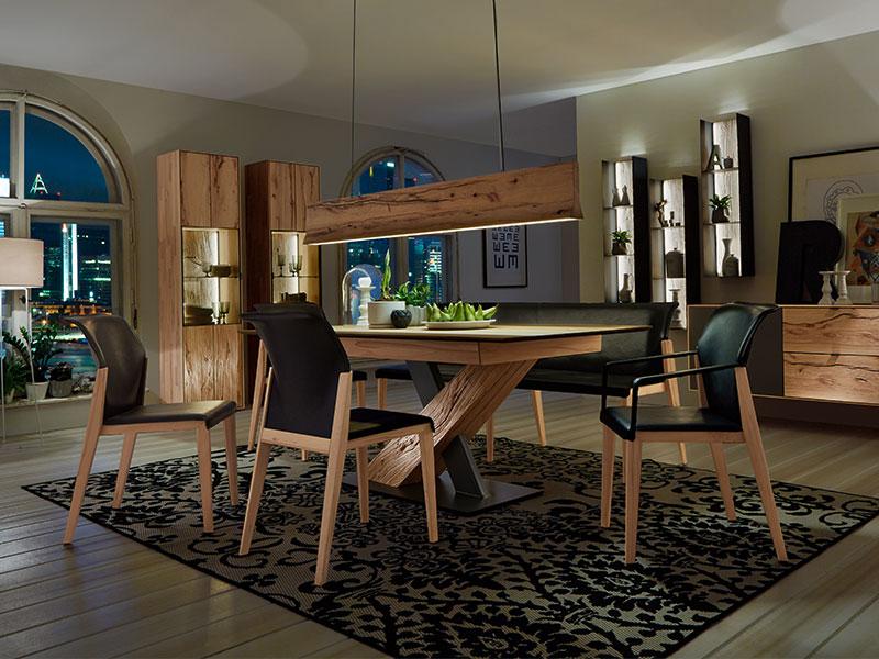 Wohnzimmermöbel - Naturholzmöbel massiv - Möbel Schulze Coburg & Rödental