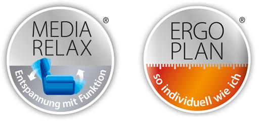 Polstermöbel von Modulmaster - MEDIA RELAX - ERGO PLAN