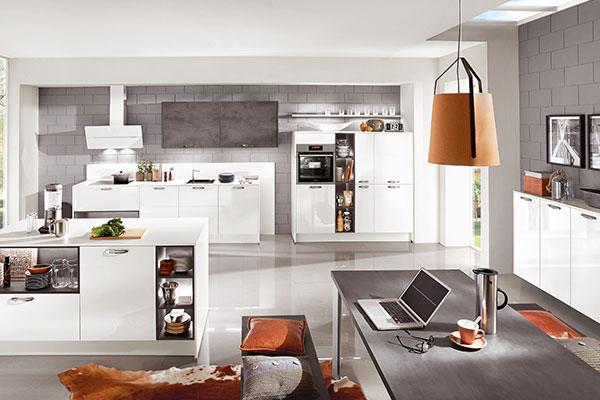 Moderne Küche - Küchen Arena Rödental