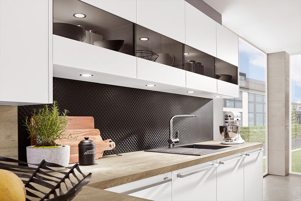 Integrierte LED-Leuchte - Atrium Küchen