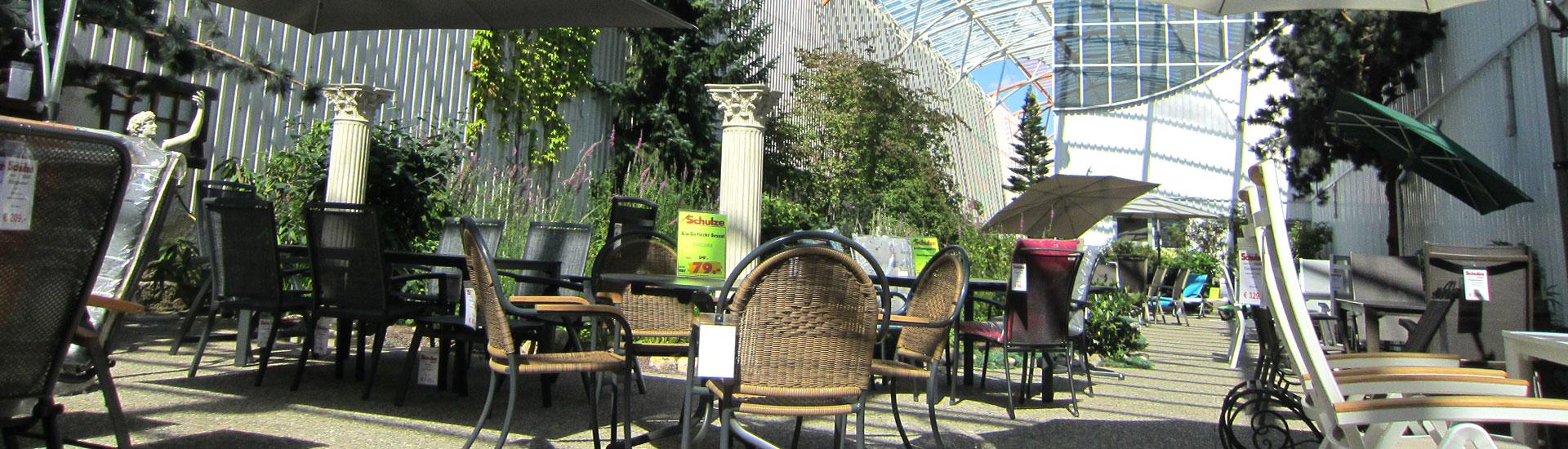 Gartenmöbel Ausstellung - Möbel Schulze Coburg, Rödental & Ilmenau