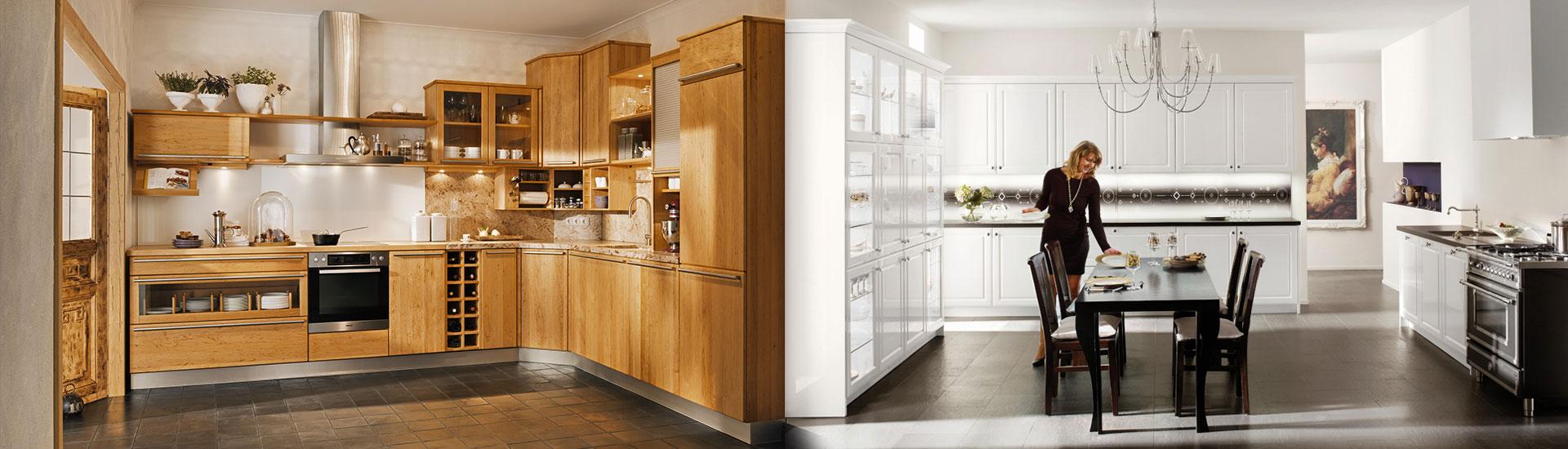 Küche Landhausstil Abverkauf. Kleine Küche Viel Stauraum Fenster ...