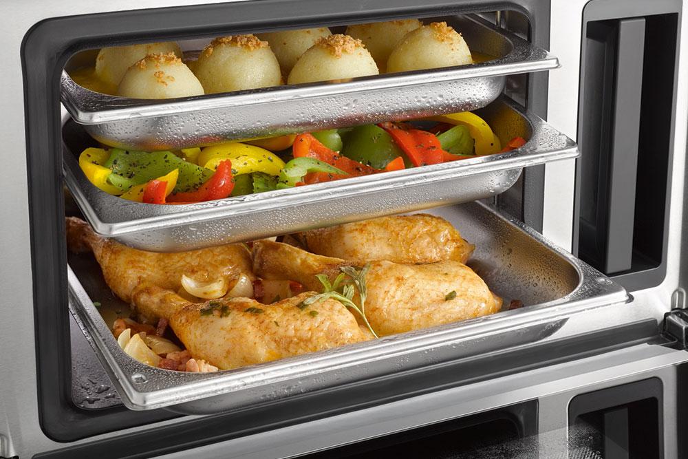 Gleichzeitig unterschiedlichste Speisen garen mit dem Miele-Dampfgarer - Küchen Arena Rödental - Coburg