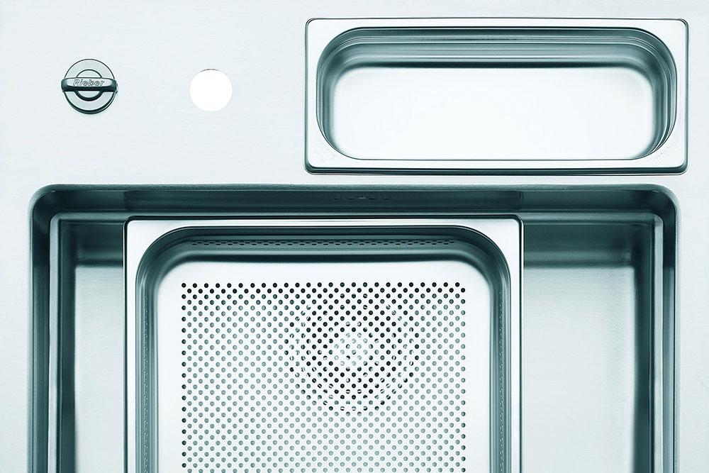 Kochen mit System der Profis: Naber Waterstation® cubic