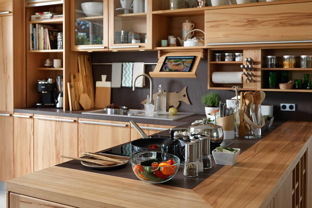 Naturholzküchen naturholzküchen küchen arena by möbelstadt schulze in rödental