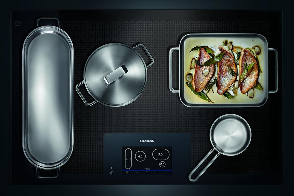 Siemens Vollflächen-Induktionsherd: Eine Kochstelle. Alle Freiheiten. - Küchen Arena Rödental - Coburg