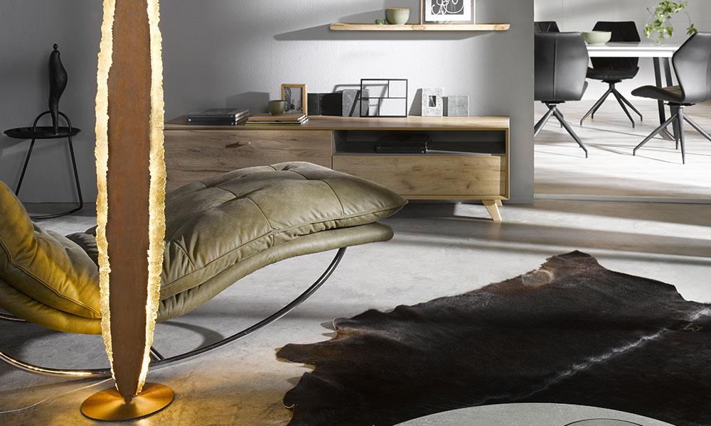 Moderne Stehlampe | Möbel Schulze