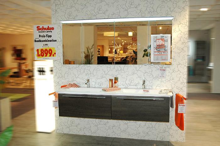 Schnäppchenmarkt | Badkombination Revento von Musterring | Einrichtungshaus Schulze Rödental