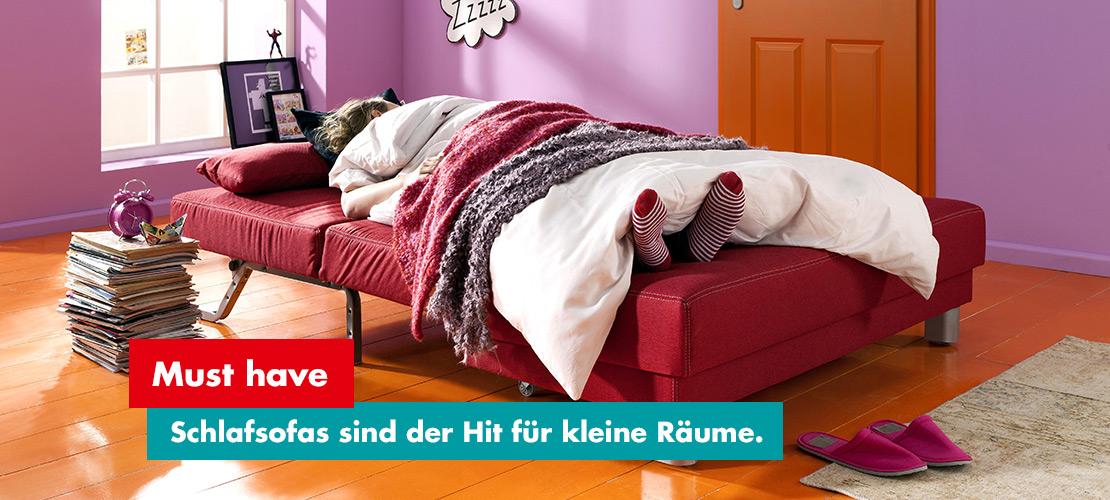 Mobile Rödental - Schlafsofas - Der Hit für kleine Räume