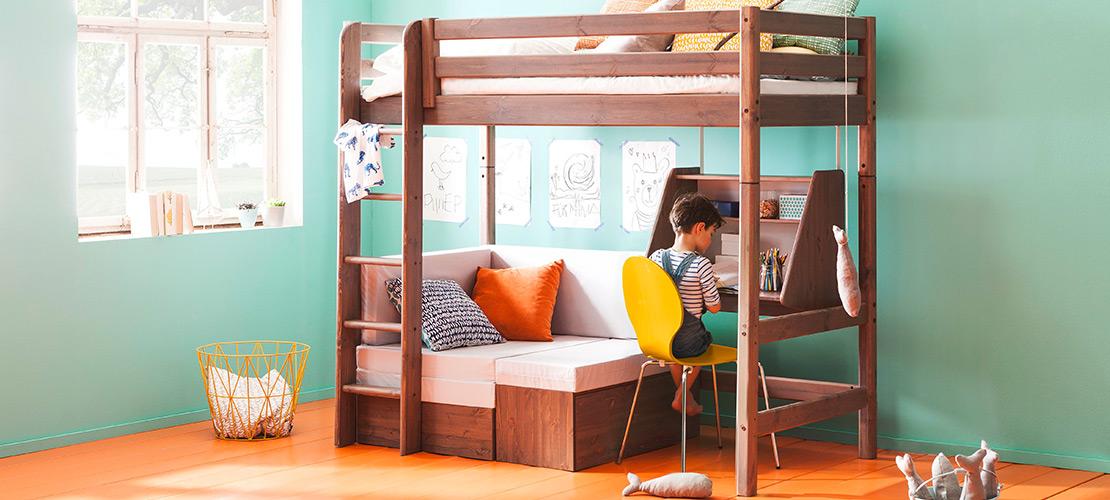 Hochbett fürs Kinderzimmer - Mobile Rödental