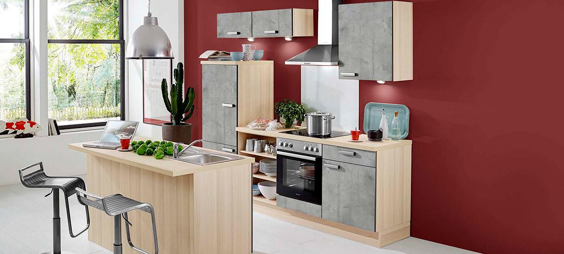 Moderne Küchenzeile - Mobile Rödental