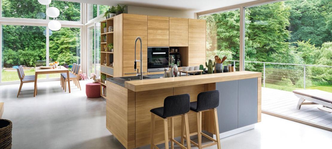 TEAM7 Naturholzküchen exklusiv in der Küchen Arena | Rödental