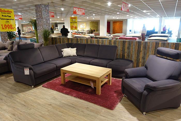 Ecksofa mit Sessel | Einrichtungshaus Schulze Rödental