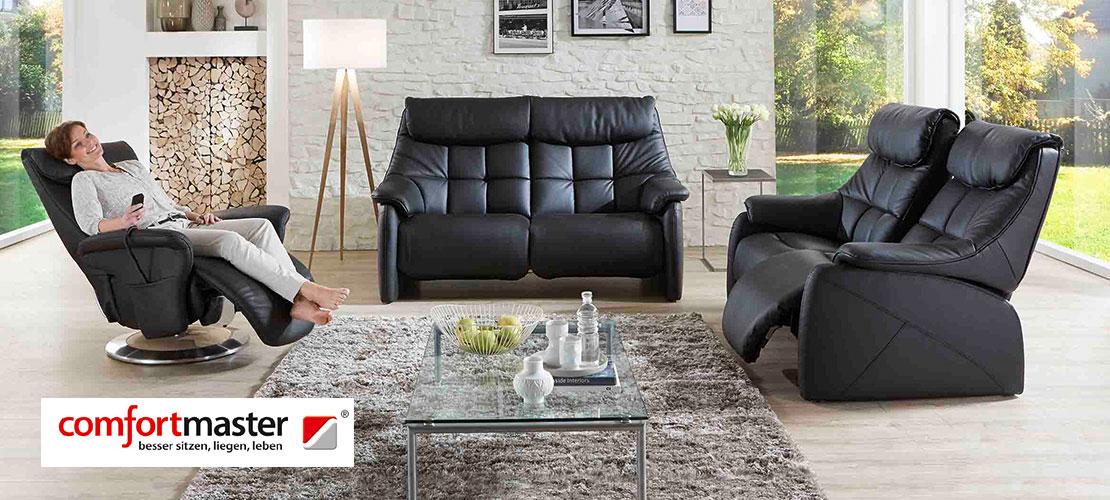 Sessel, 2,5 Sitzer und 2-Sitzer | Comfortmaster | Lederbezug