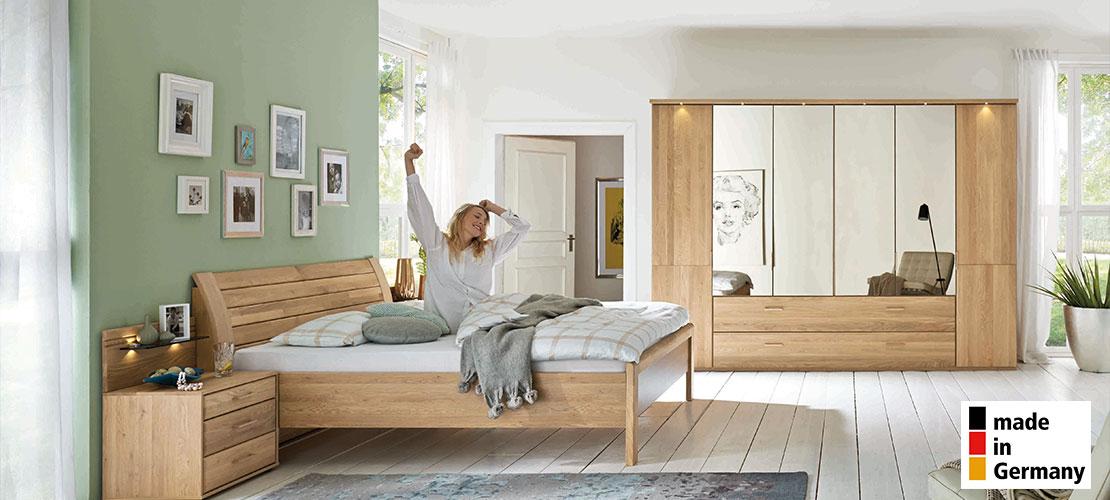 Schlafzimmermöbel | Eiche massiv