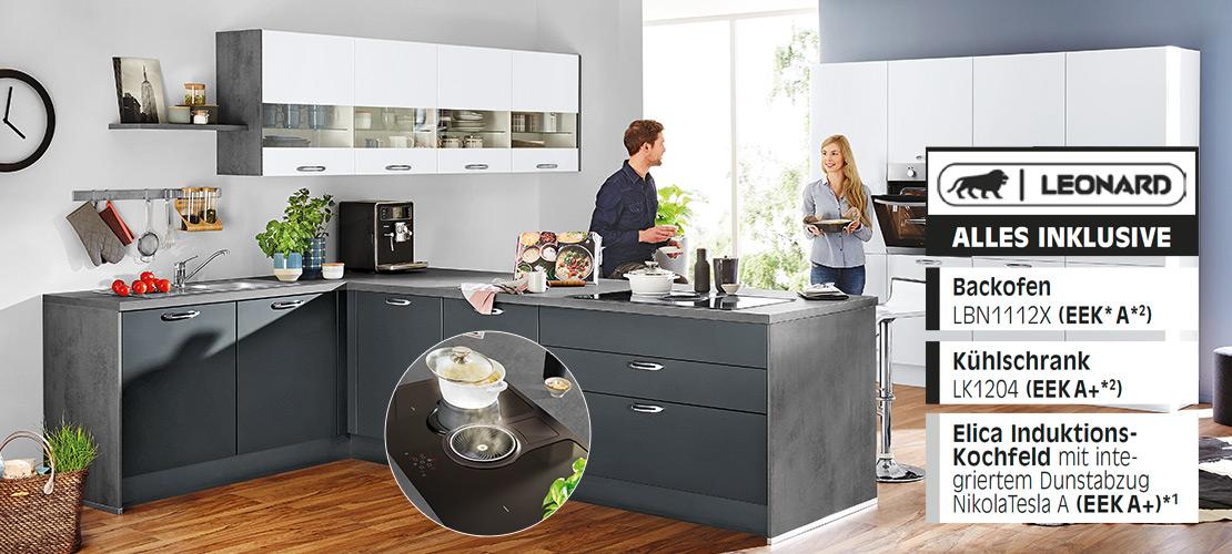Einbauküche inklusive Elektrogeräte   Küchenarena Rödental