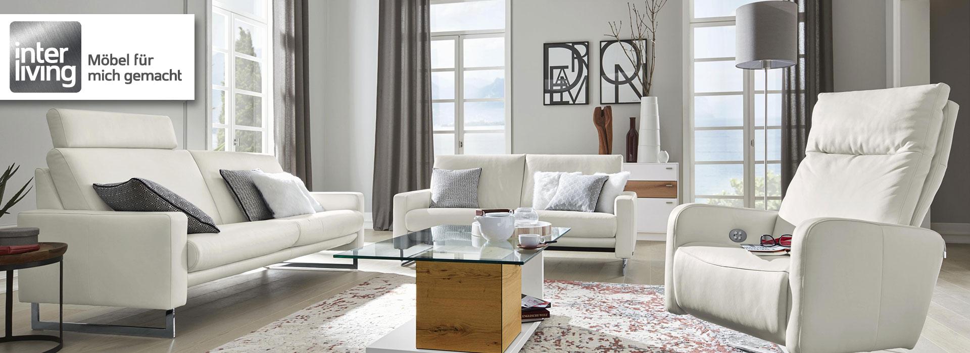 Markenmöbel von Interliving - Möbel Schulze