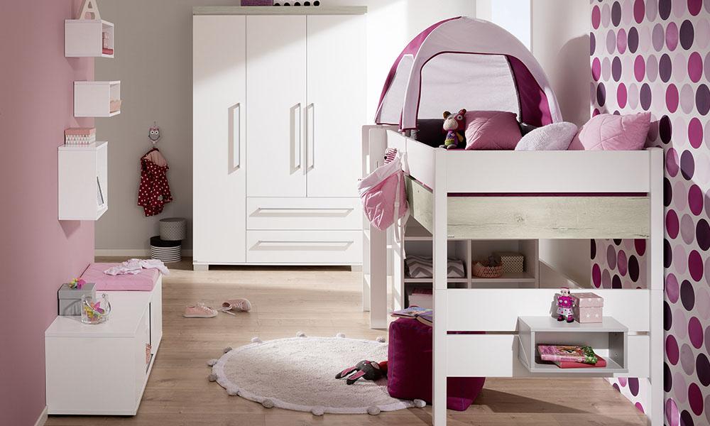 PAIDI-Kira| Spielbett | Mitwachsende Kindermöbel