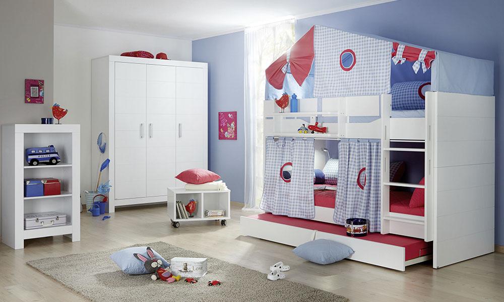PAIDI-FIONA | Etagenbett | Mitwachsende Kindermöbel