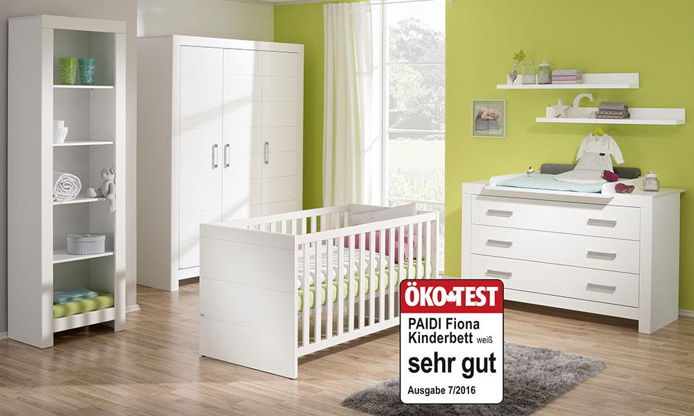 PAIDI-aFIONA | Babyzimmer | Mitwachsende Kindermöbel