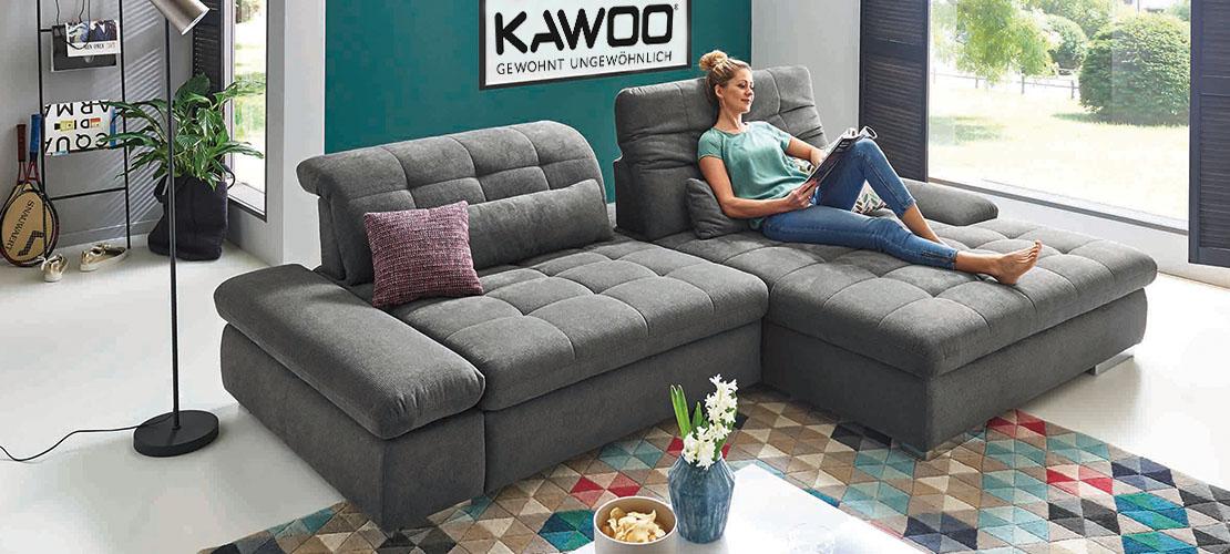 Polstermöbel von KAWOO   Moderne Eckkombination