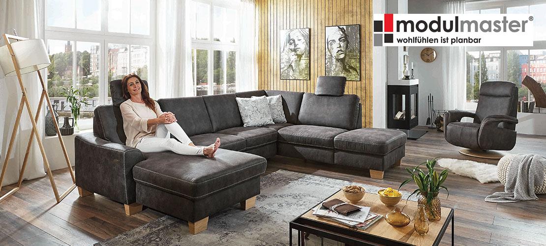 Polstermöbel von Modulmaster   Elegante Wohnlandschaft