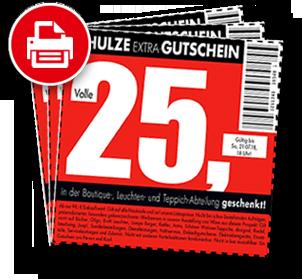 25,00 € - Gutschein von Möbel Schulze