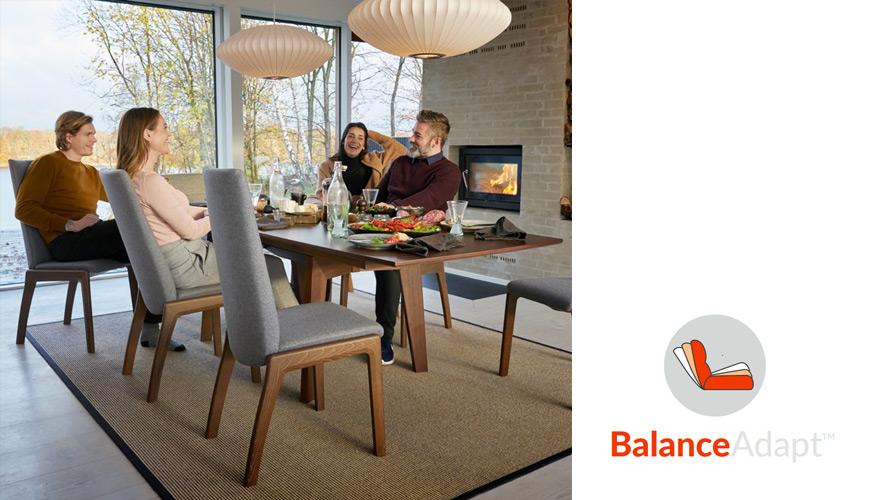 Esszimmerstuhl – mit BalanceAdapt von Stressless®