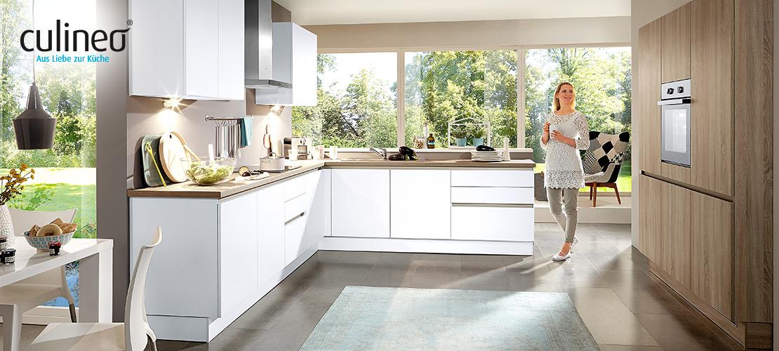 culineo-Einbauküche | Gorenje- und Bauknecht-Geräte inklusive
