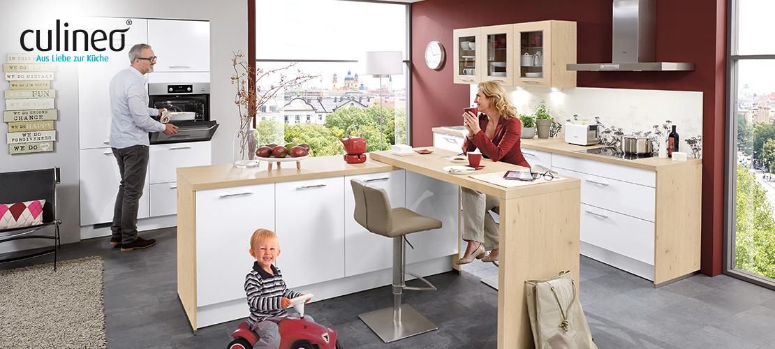 culineo-Einbauküche | AEG-Geräte inklusive | Küchen Arena