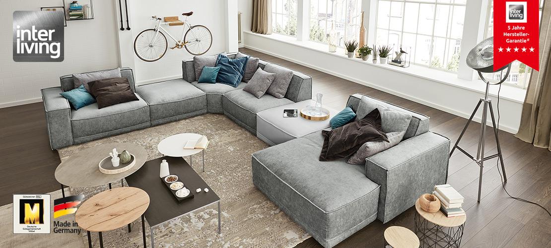 Interliving Sofa Serie 4100 - Polstermöbel