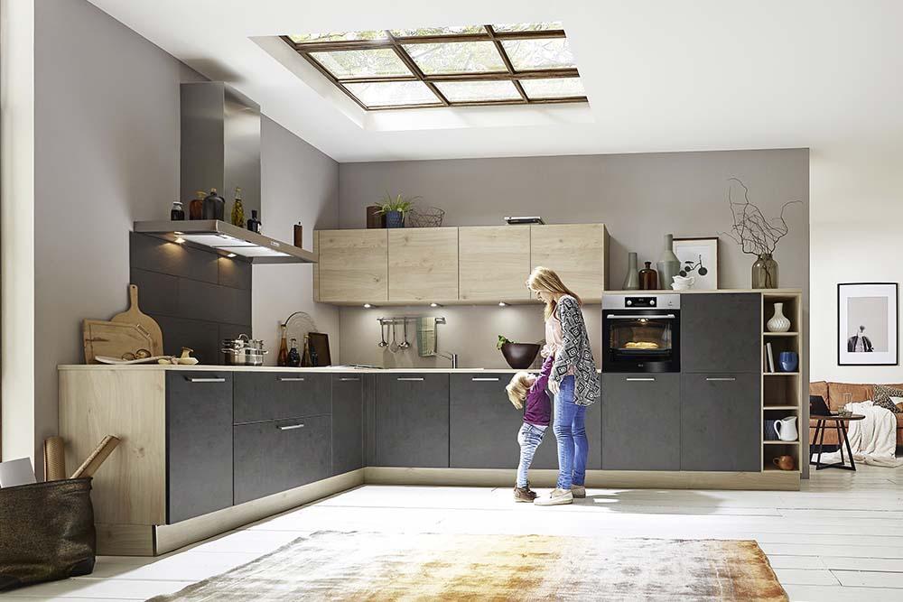 moderne k chen k chen arena by m belstadt schulze in r dental. Black Bedroom Furniture Sets. Home Design Ideas