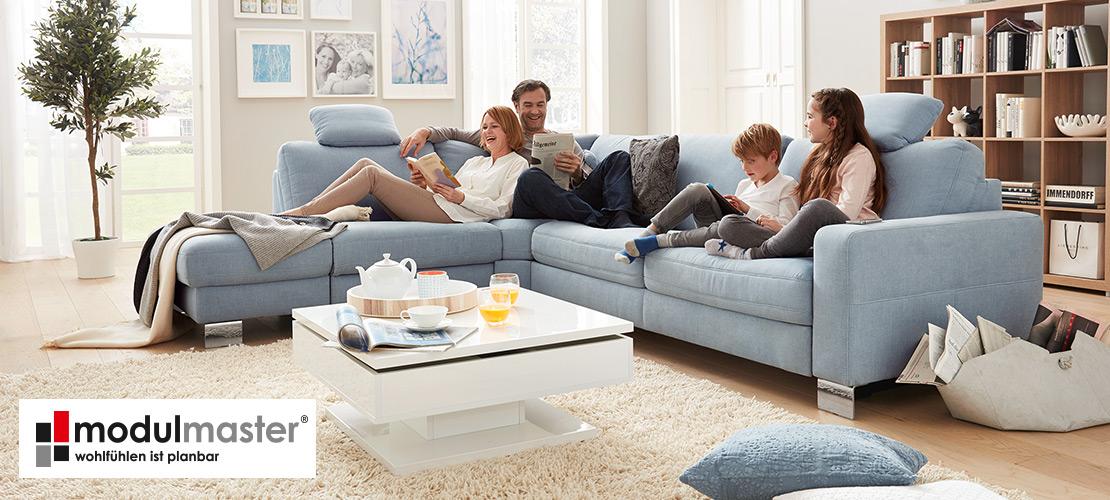 Wohnlandschaft - Sofa von modulmaster