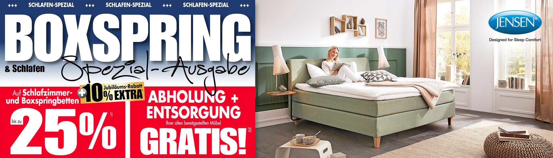 Besser Schlafen Mit Boxspring U2013 Testen Sie Es Im Einrichtungshaus Schulze!