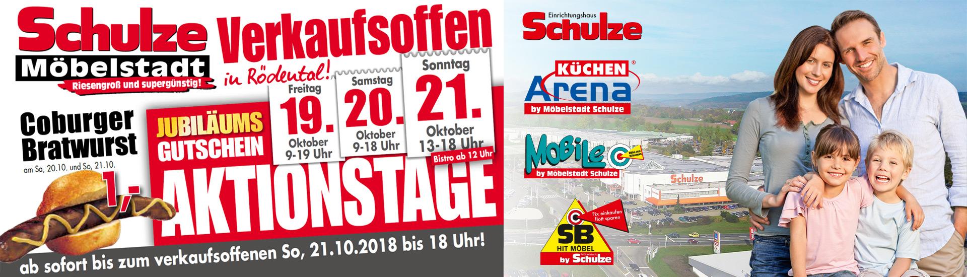 Möbelstadt Schulze - Verkaufsoffen
