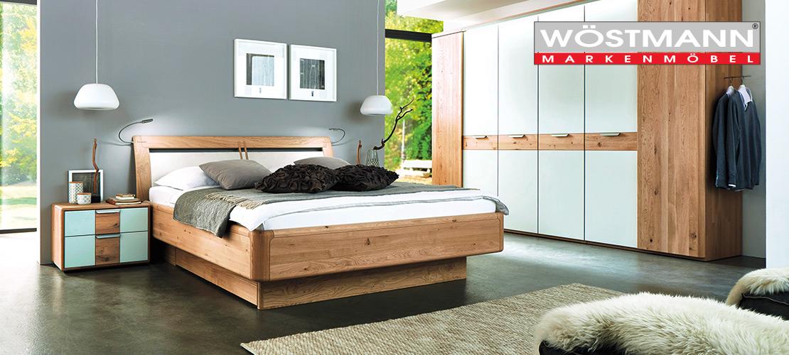 Modernes Schlafzimmer von WÖSTMANN   Wildeiche massiv