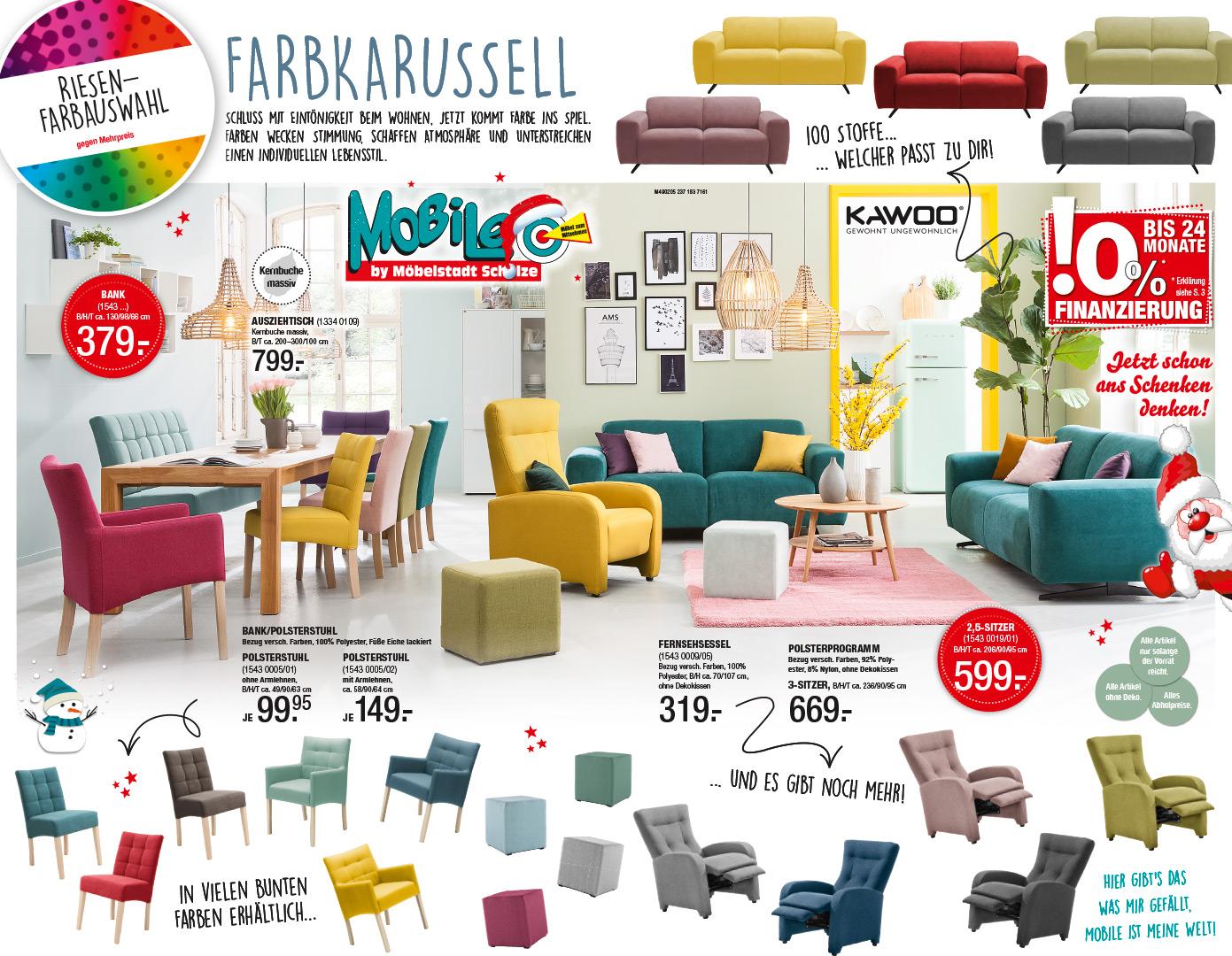Riesen-Farbauswahl | Polster - und Esszimmermöbel in bunter Vielfalt
