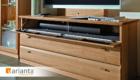 Multimedia-Möbel | Varianta Wohnwand | Möbel Schulze
