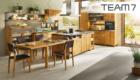 TEAM7 - Küche mit Essplatz - Naturholz | Möbel Schulze