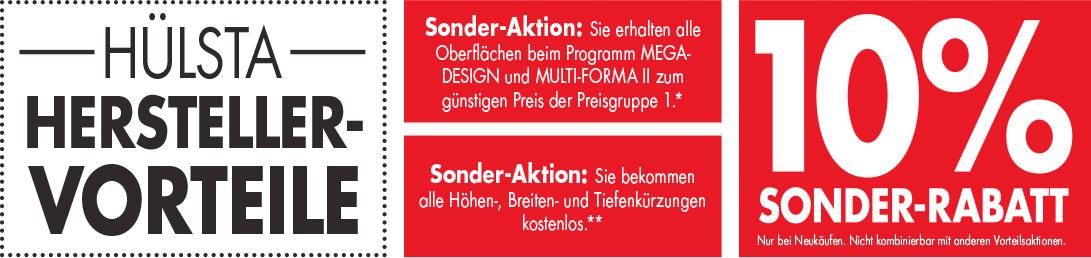 hülsta - Sonderaktionen bei Möbel Schulze