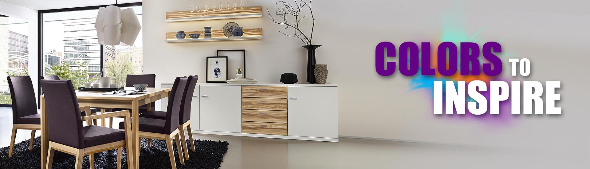 Wohnraumgestaltung - Trendfarben 2019