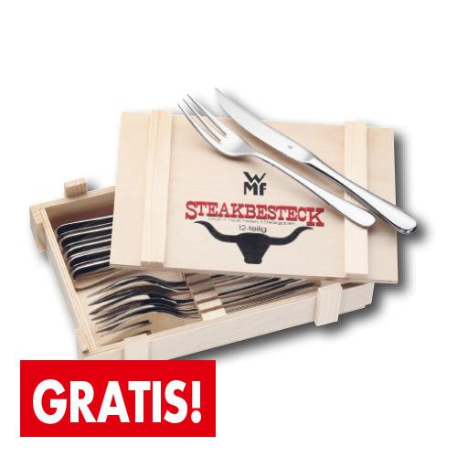WMF-Steakbesteck - Gratis