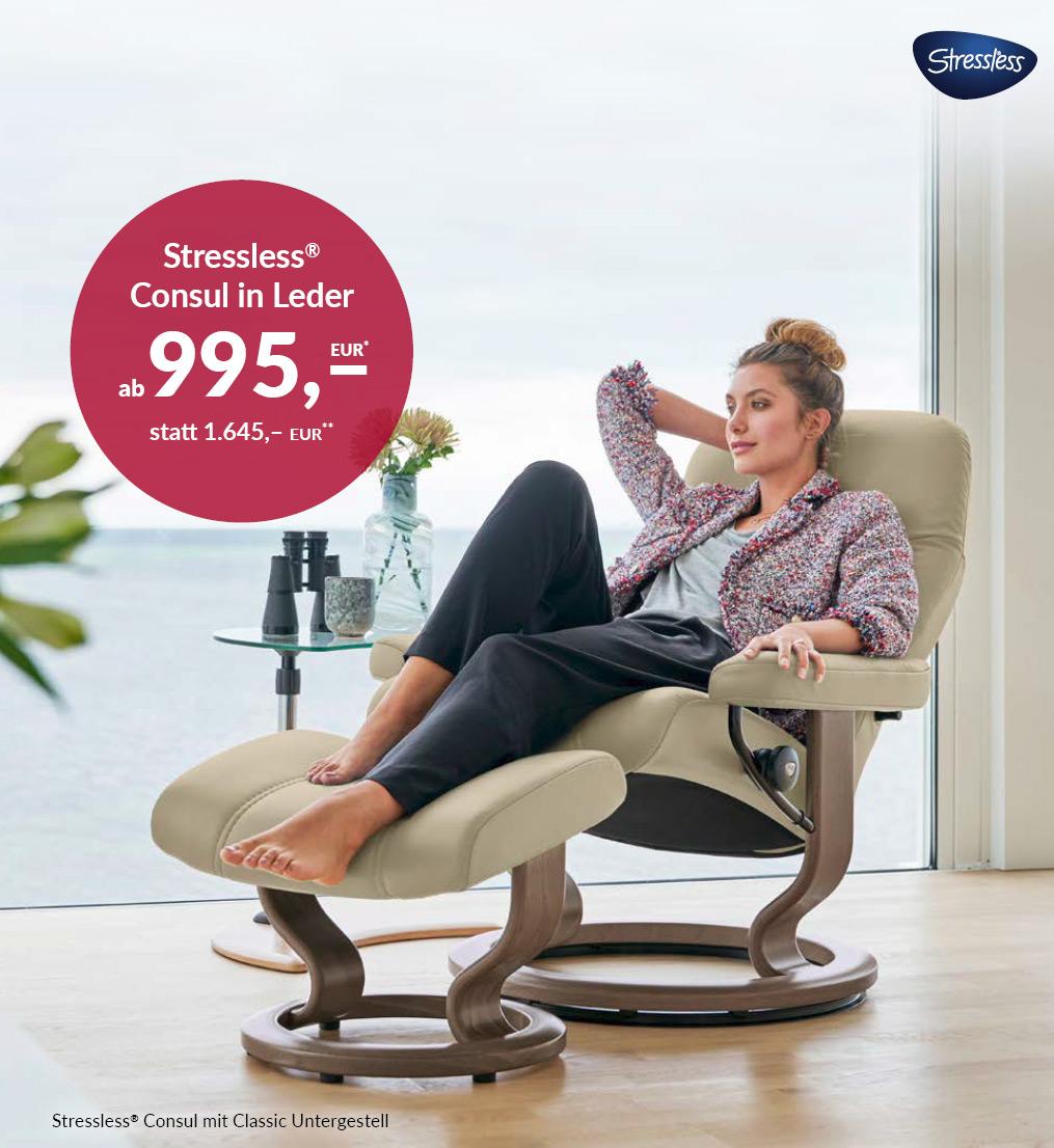 Stressless  Consul Sessel - mit Classic Untergestell
